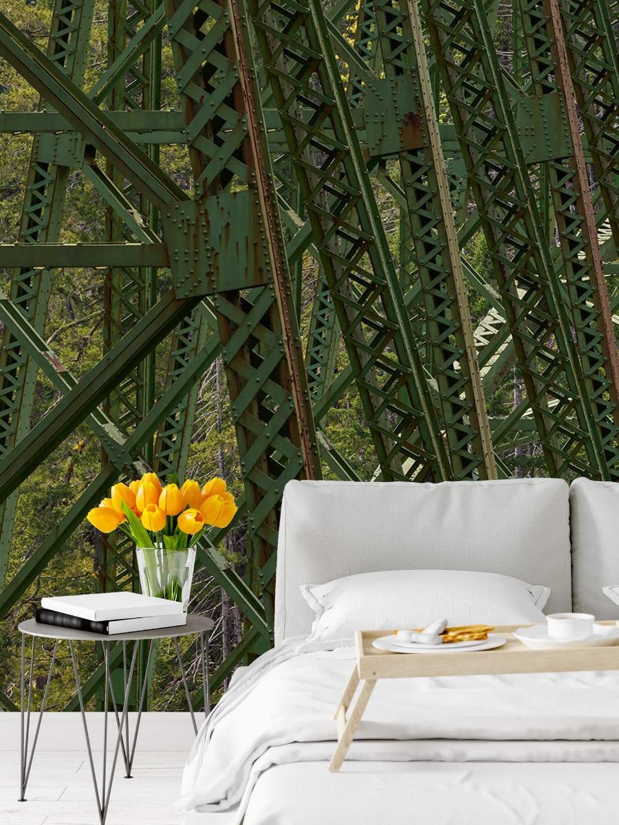 Elementen - Staalconstructie oude spoorbrug - Slaapkamer 7