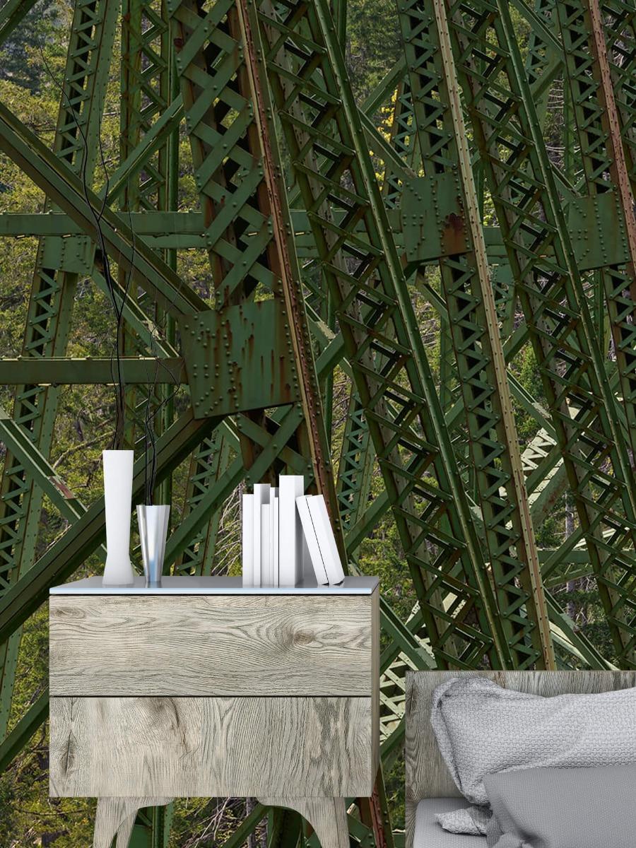 Elementen - Staalconstructie oude spoorbrug - Slaapkamer 9