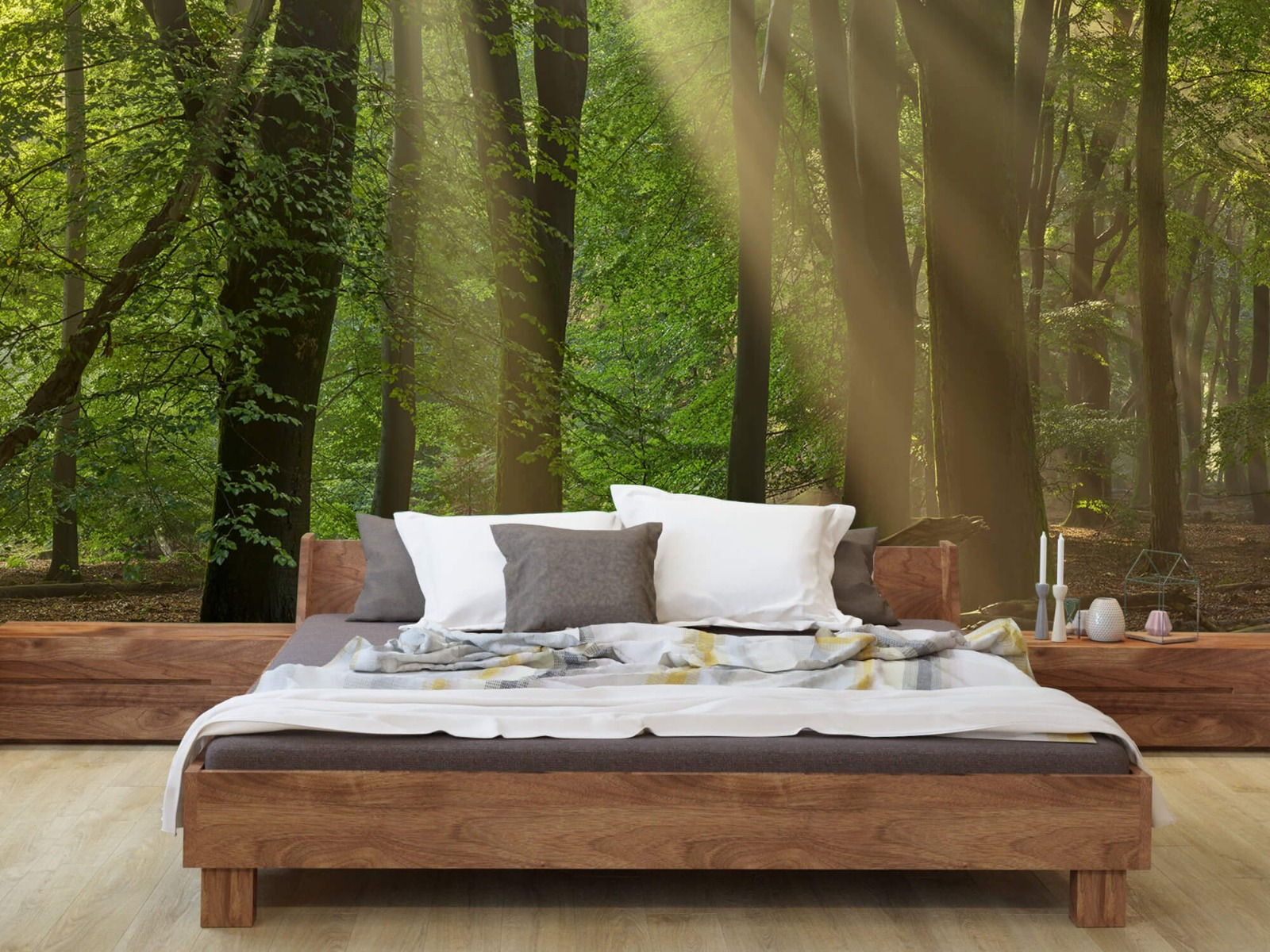 Bomen - Zonneharpen in het bos - Slaapkamer 9