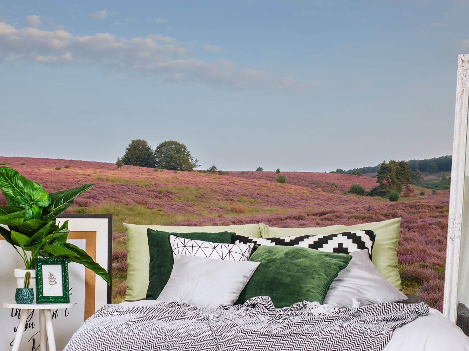 Landschap - Bloeiende heide - Slaapkamer 13