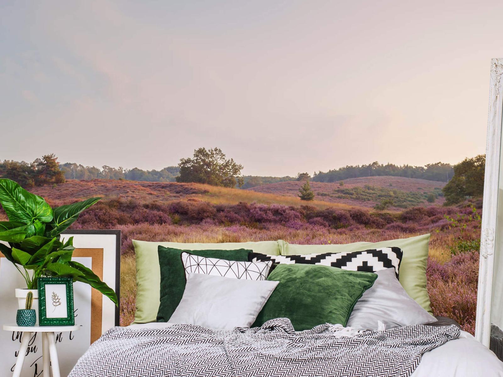 Landschap - Heide bij zonsopgang - Slaapkamer 13