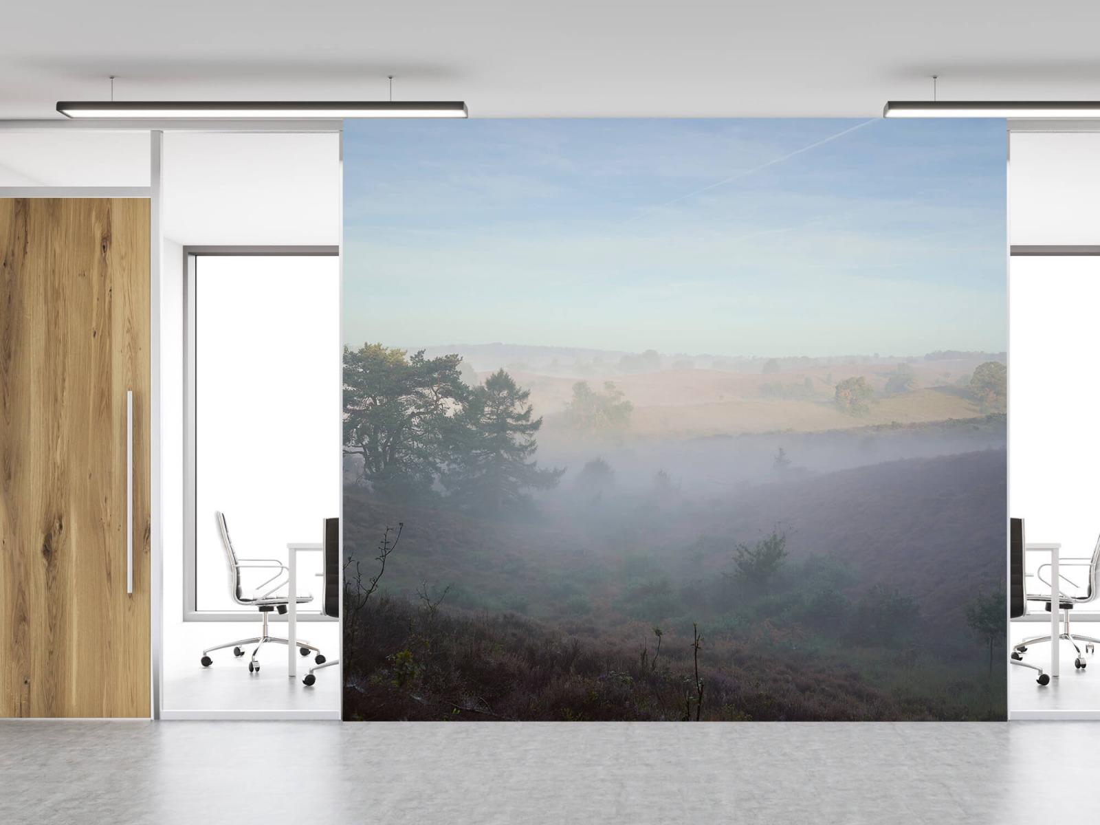 Landschap - Mist op de hei - Slaapkamer 11