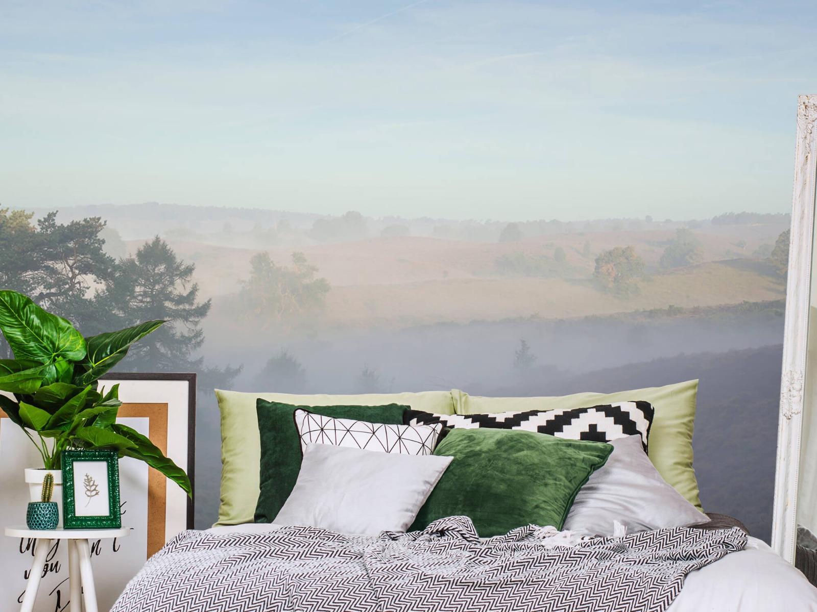 Landschap - Mist op de hei - Slaapkamer 12