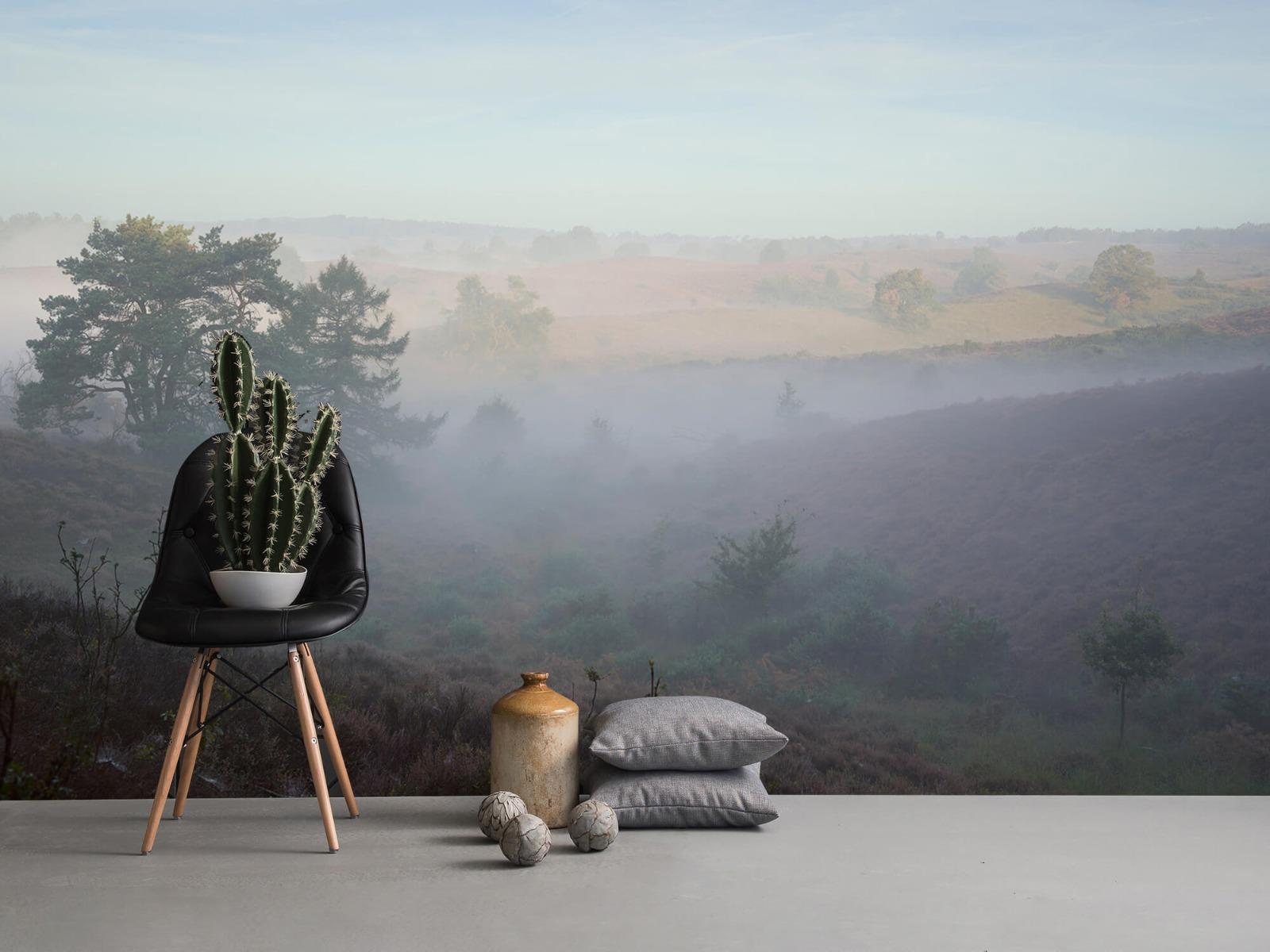 Landschap - Mist op de hei - Slaapkamer 13