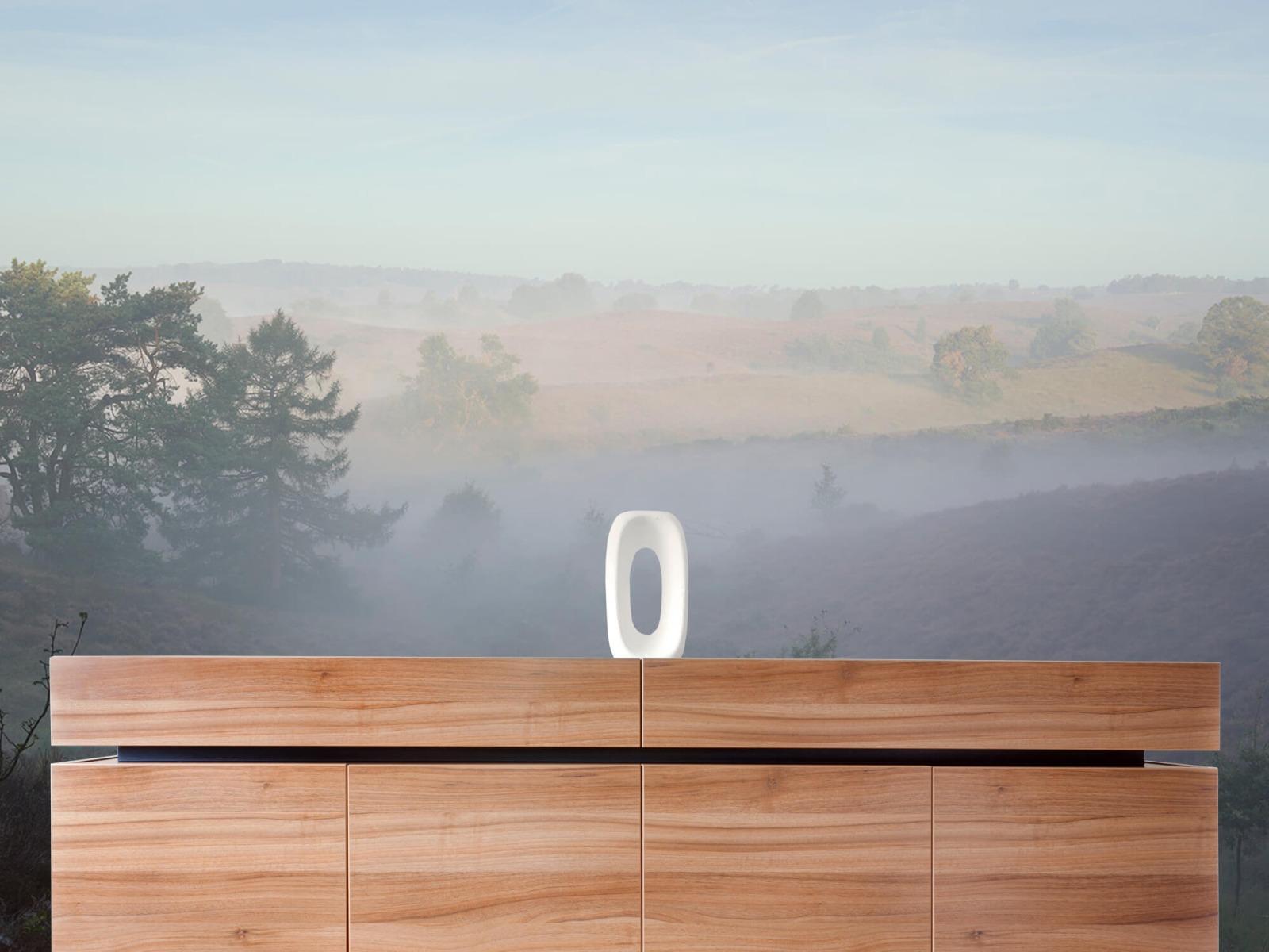 Landschap - Mist op de hei - Slaapkamer 20