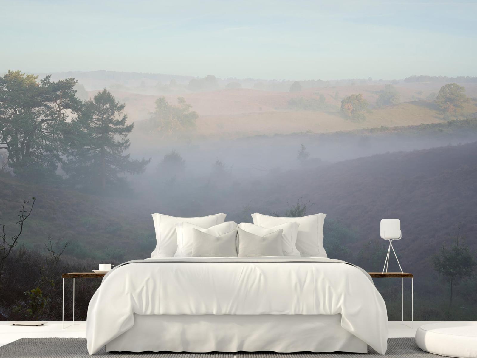 Landschap - Mist op de hei - Slaapkamer 22