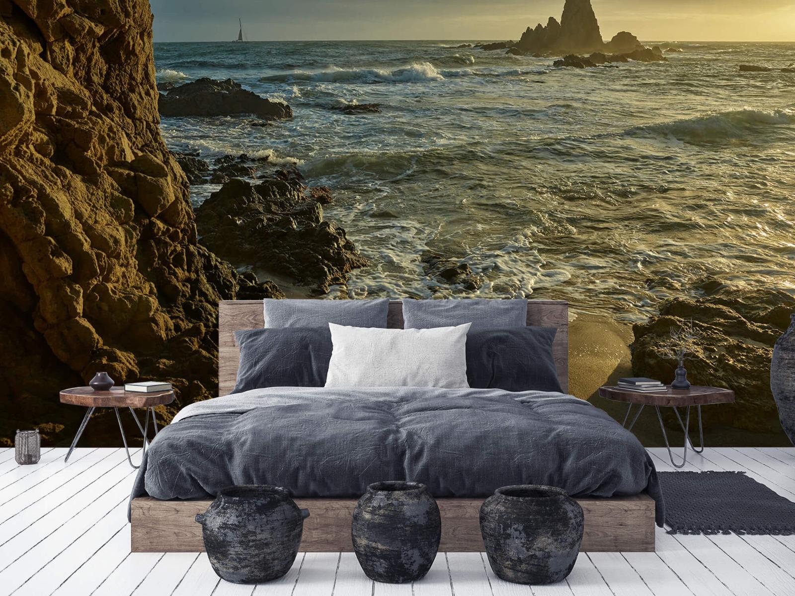 Landschap - Rotsen voor de kust - Slaapkamer 5