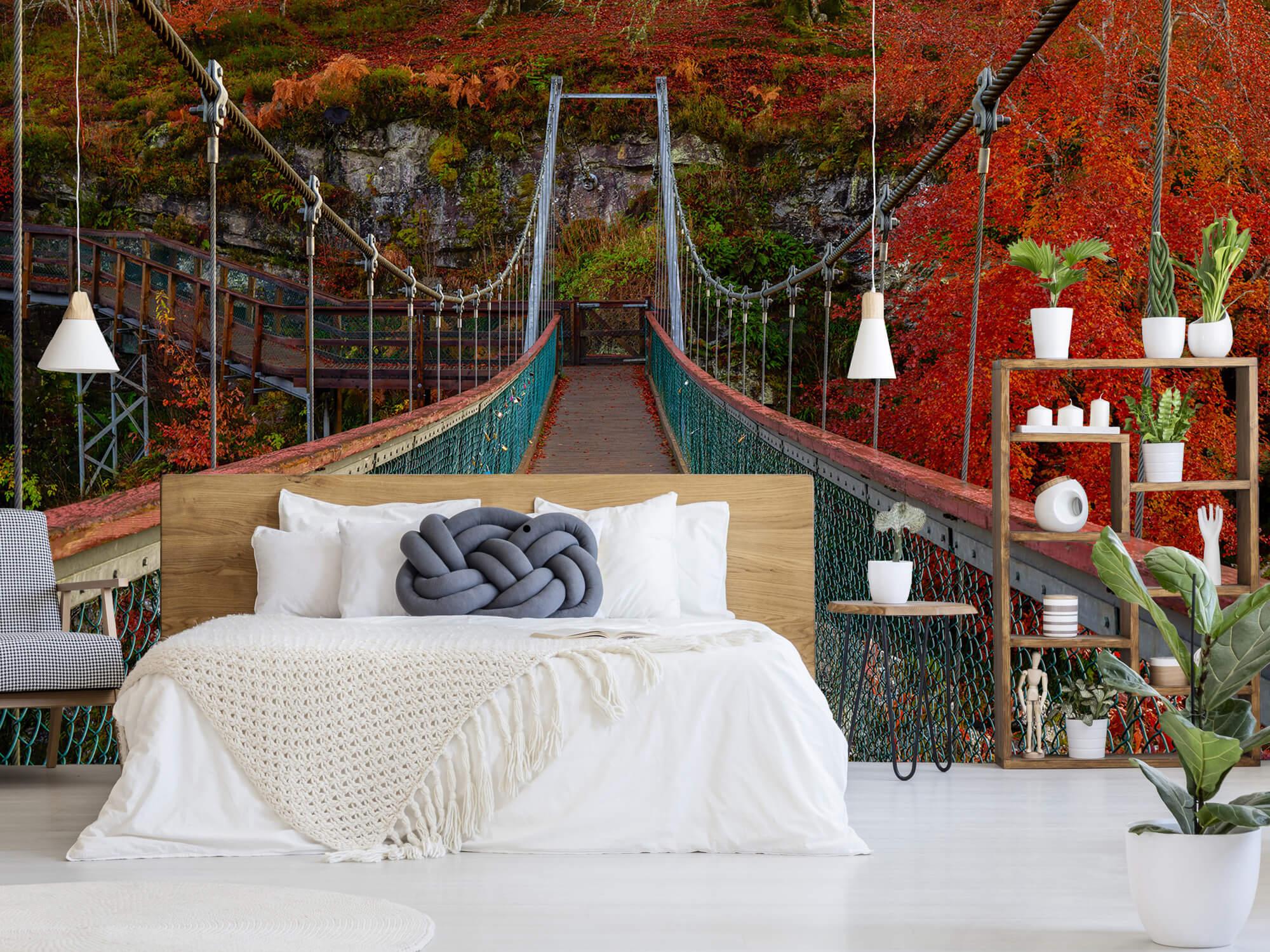 Herfst - Brug in herfstige omgeving - Slaapkamer 2