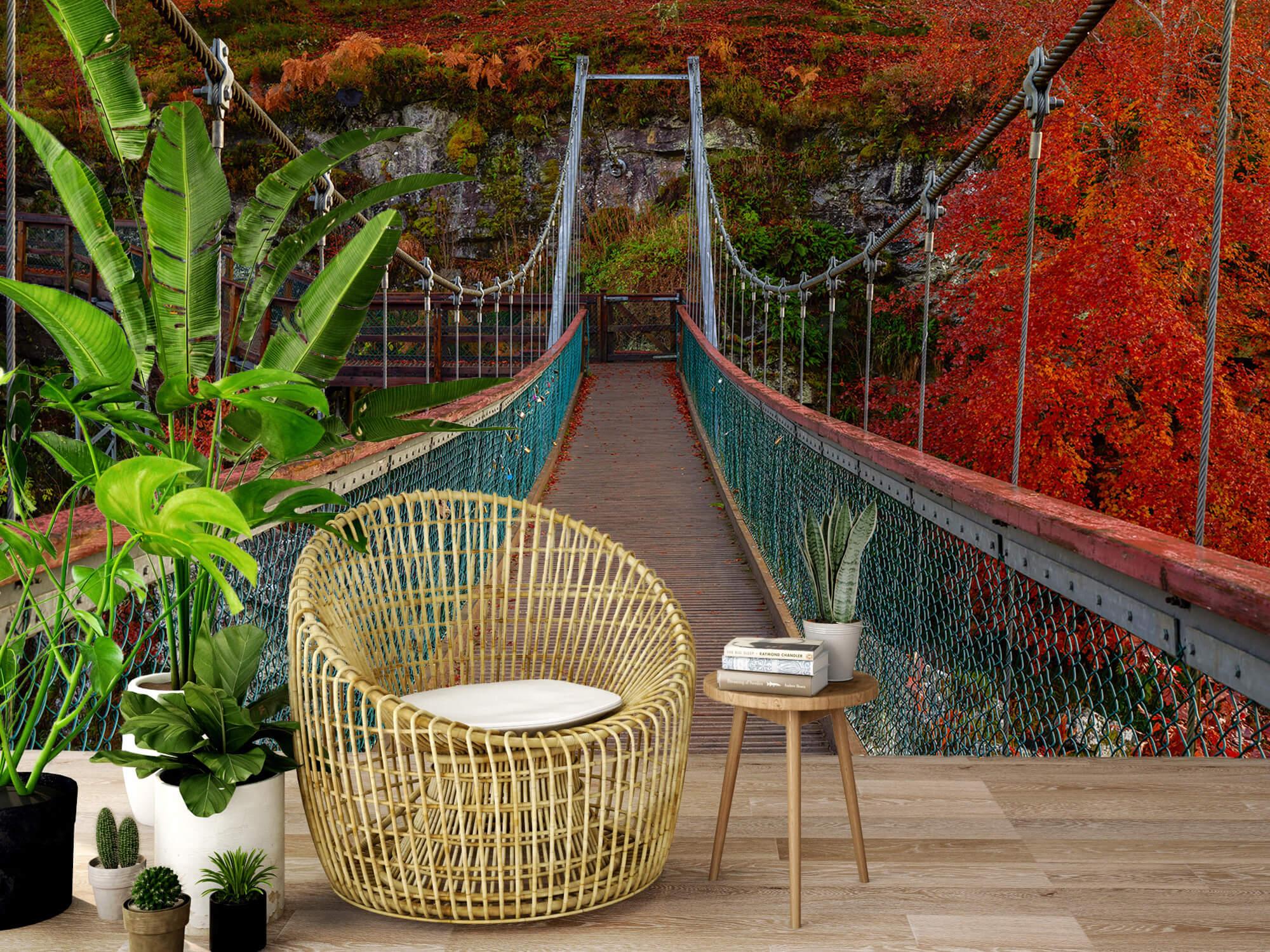 Herfst - Brug in herfstige omgeving - Slaapkamer 3
