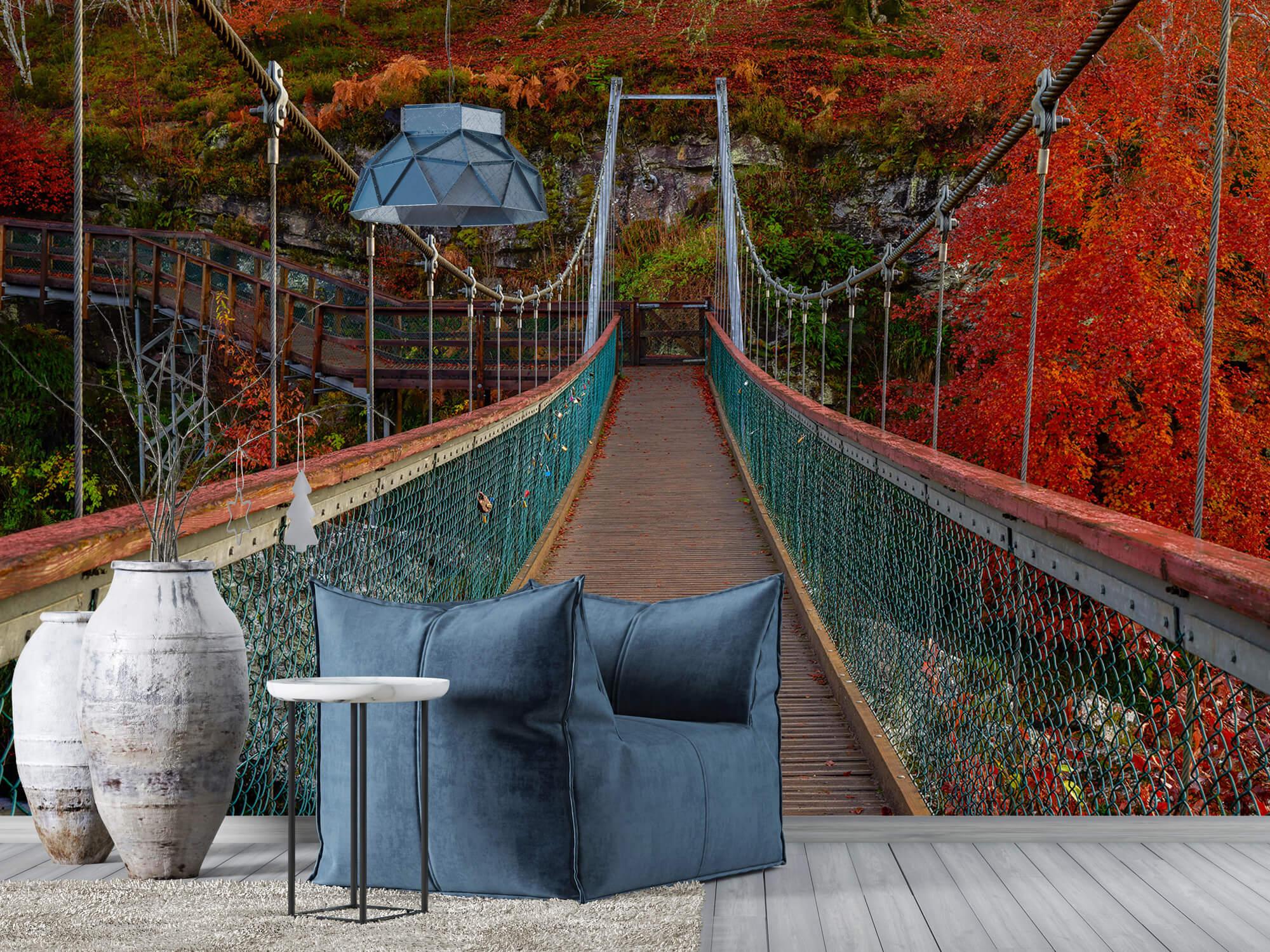 Herfst - Brug in herfstige omgeving - Slaapkamer 4