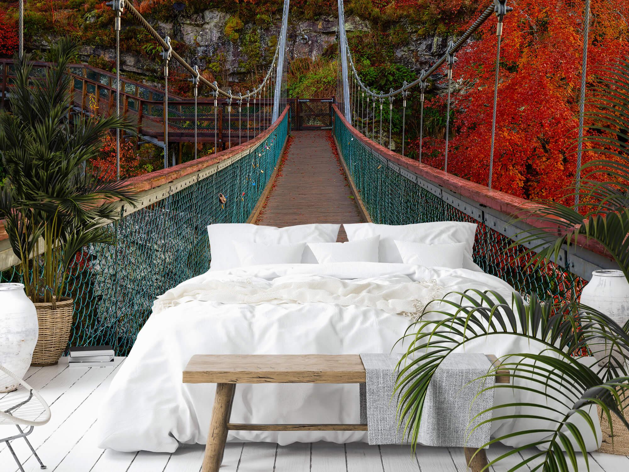 Herfst - Brug in herfstige omgeving - Slaapkamer 6