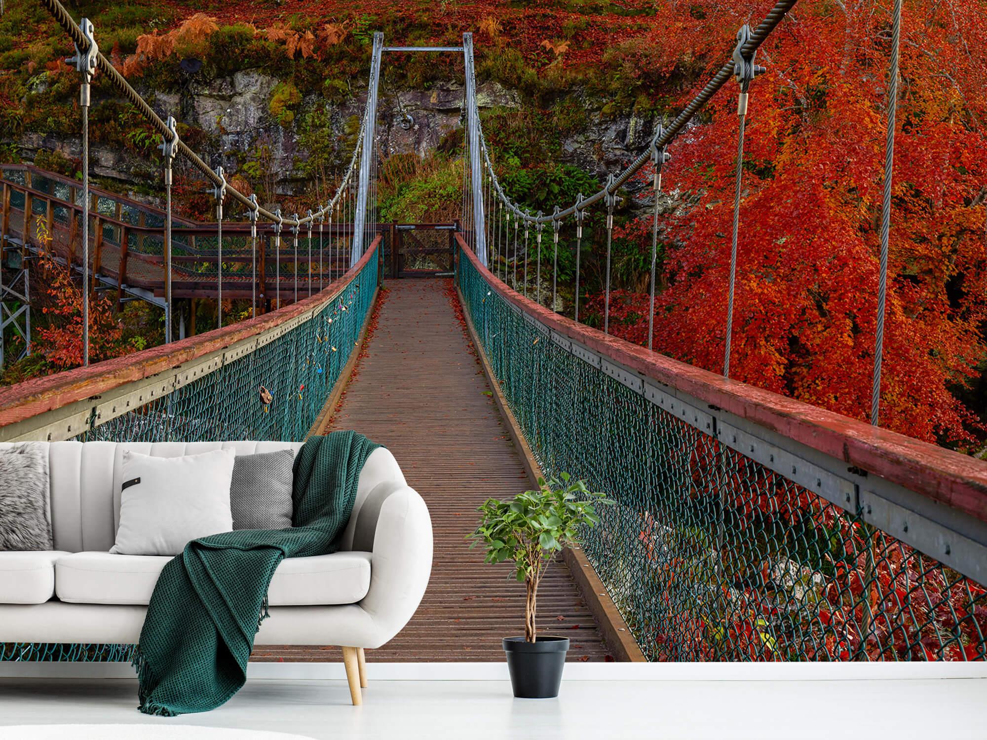 Herfst - Brug in herfstige omgeving - Slaapkamer 8