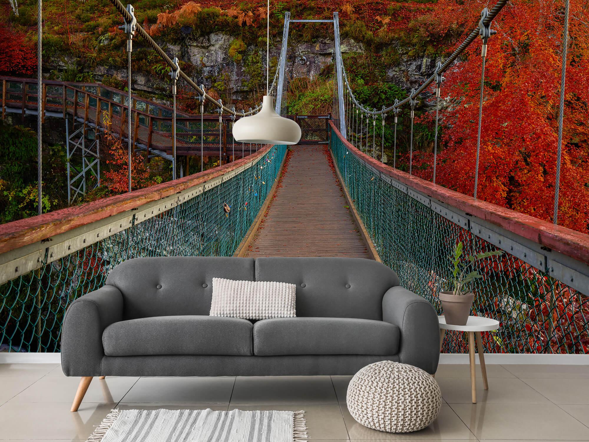 Herfst - Brug in herfstige omgeving - Slaapkamer 11