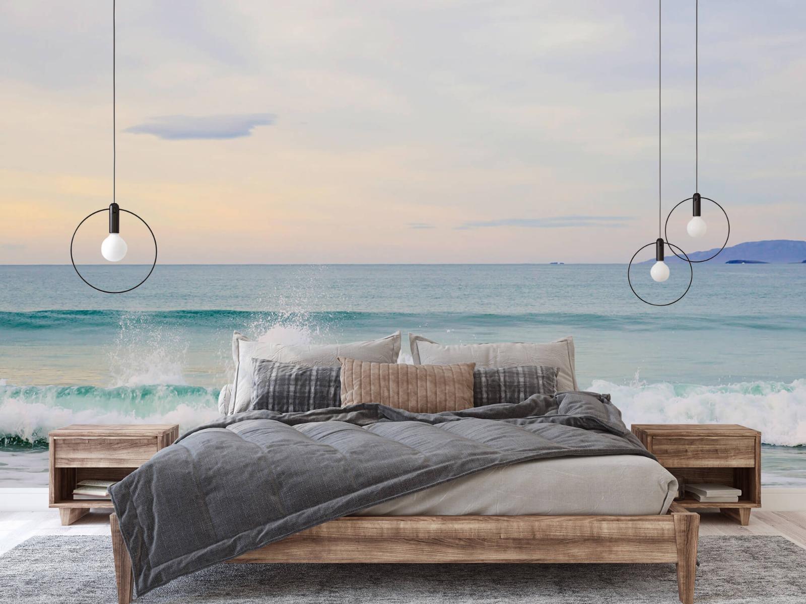 Zeeën en Oceanen - Golvende kust - Slaapkamer 1