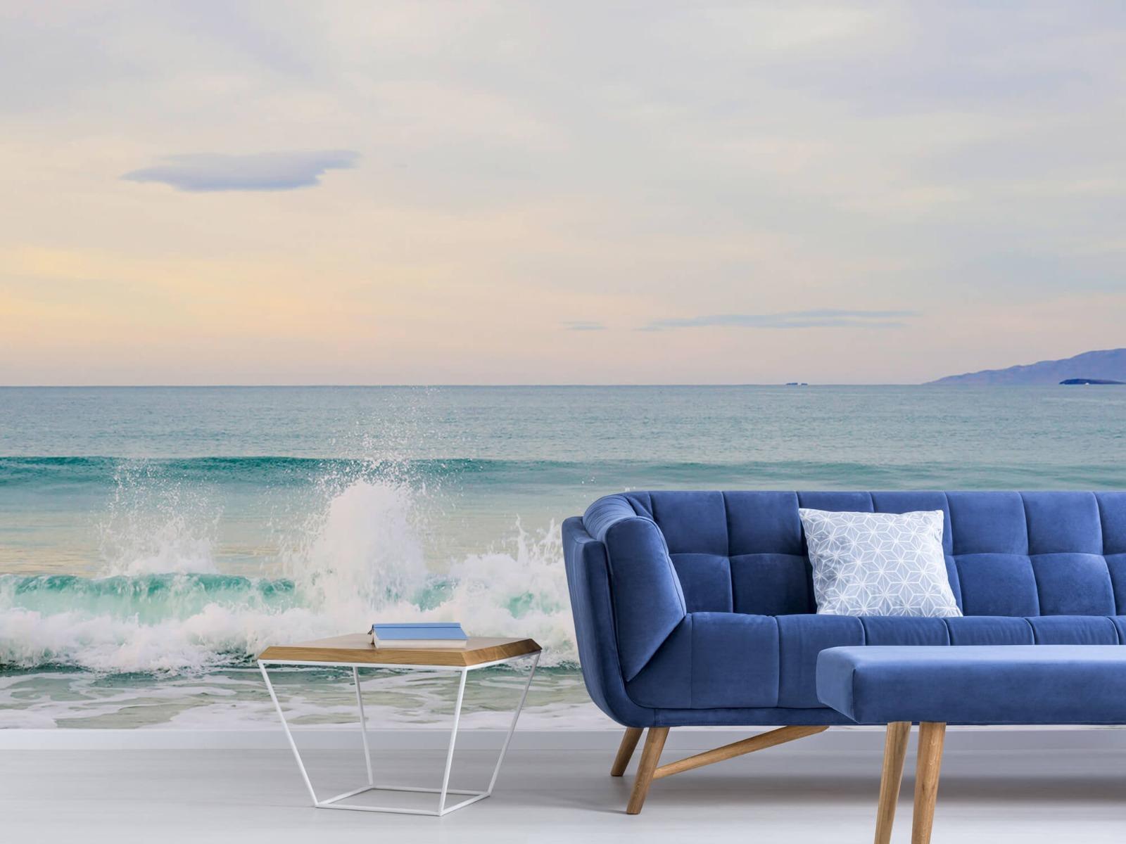 Zeeën en Oceanen - Golvende kust - Slaapkamer 4