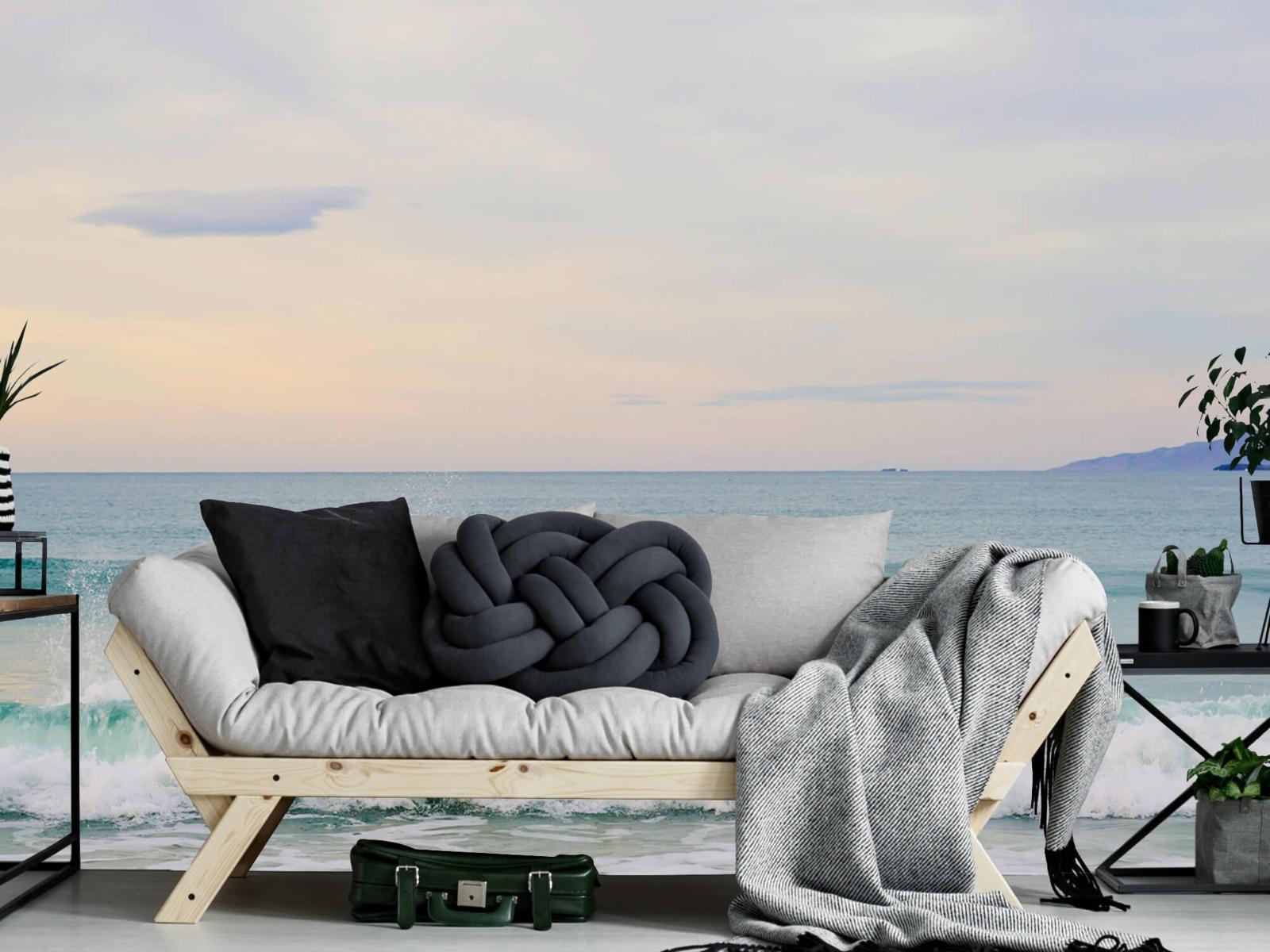 Zeeën en Oceanen - Golvende kust - Slaapkamer 6