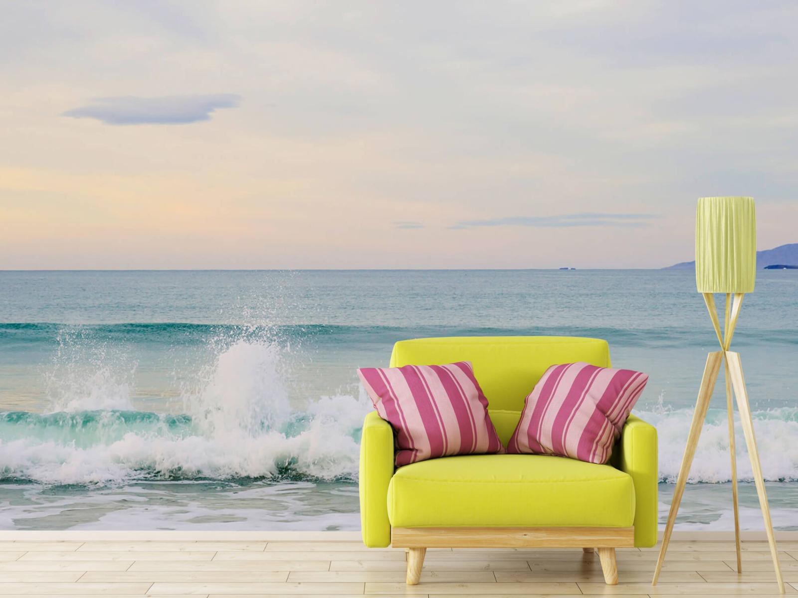 Zeeën en Oceanen - Golvende kust - Slaapkamer 17