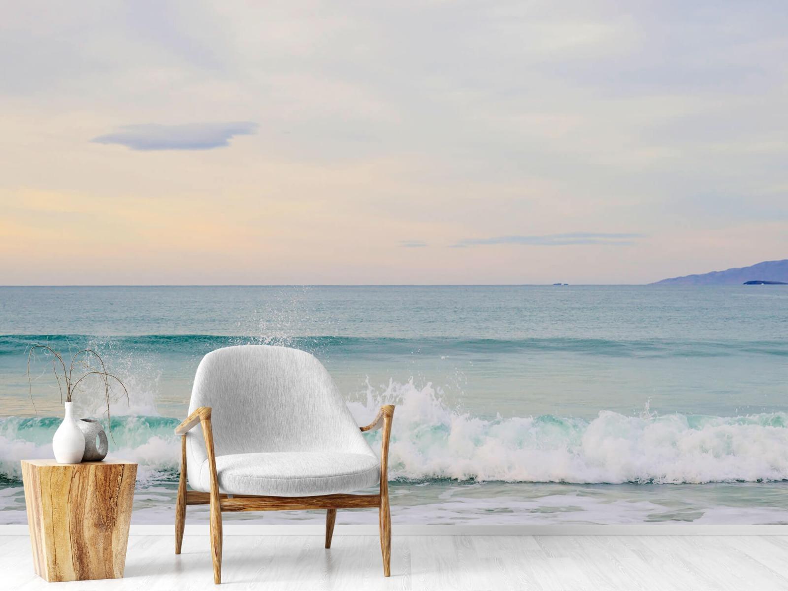 Zeeën en Oceanen - Golvende kust - Slaapkamer 18
