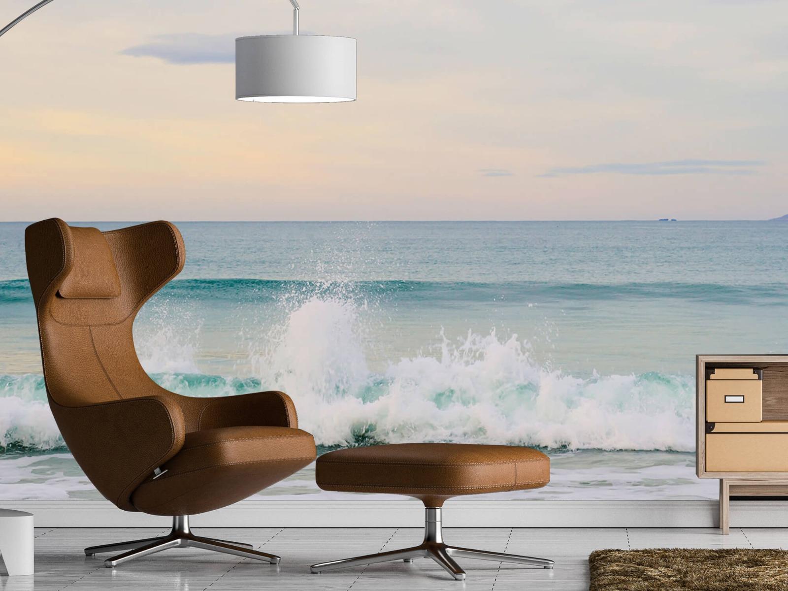 Zeeën en Oceanen - Golvende kust - Slaapkamer 19