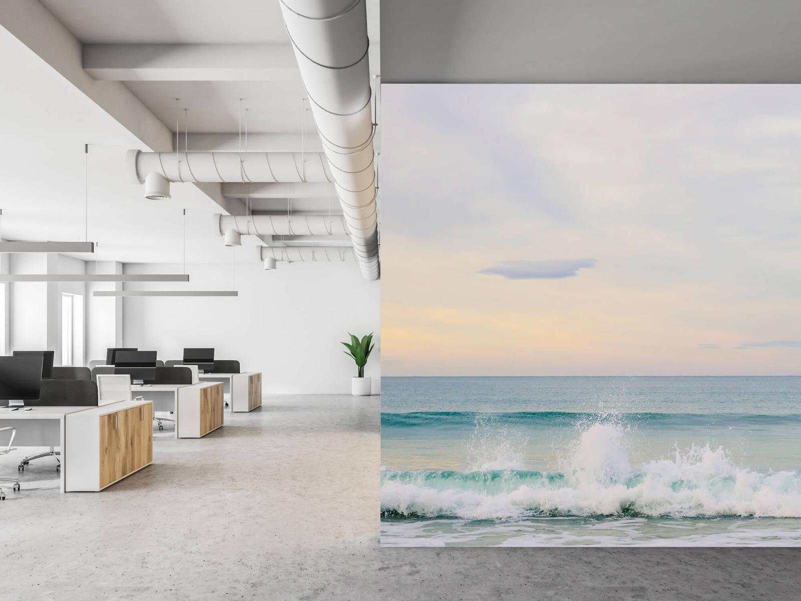 Zeeën en Oceanen - Golvende kust - Slaapkamer 21