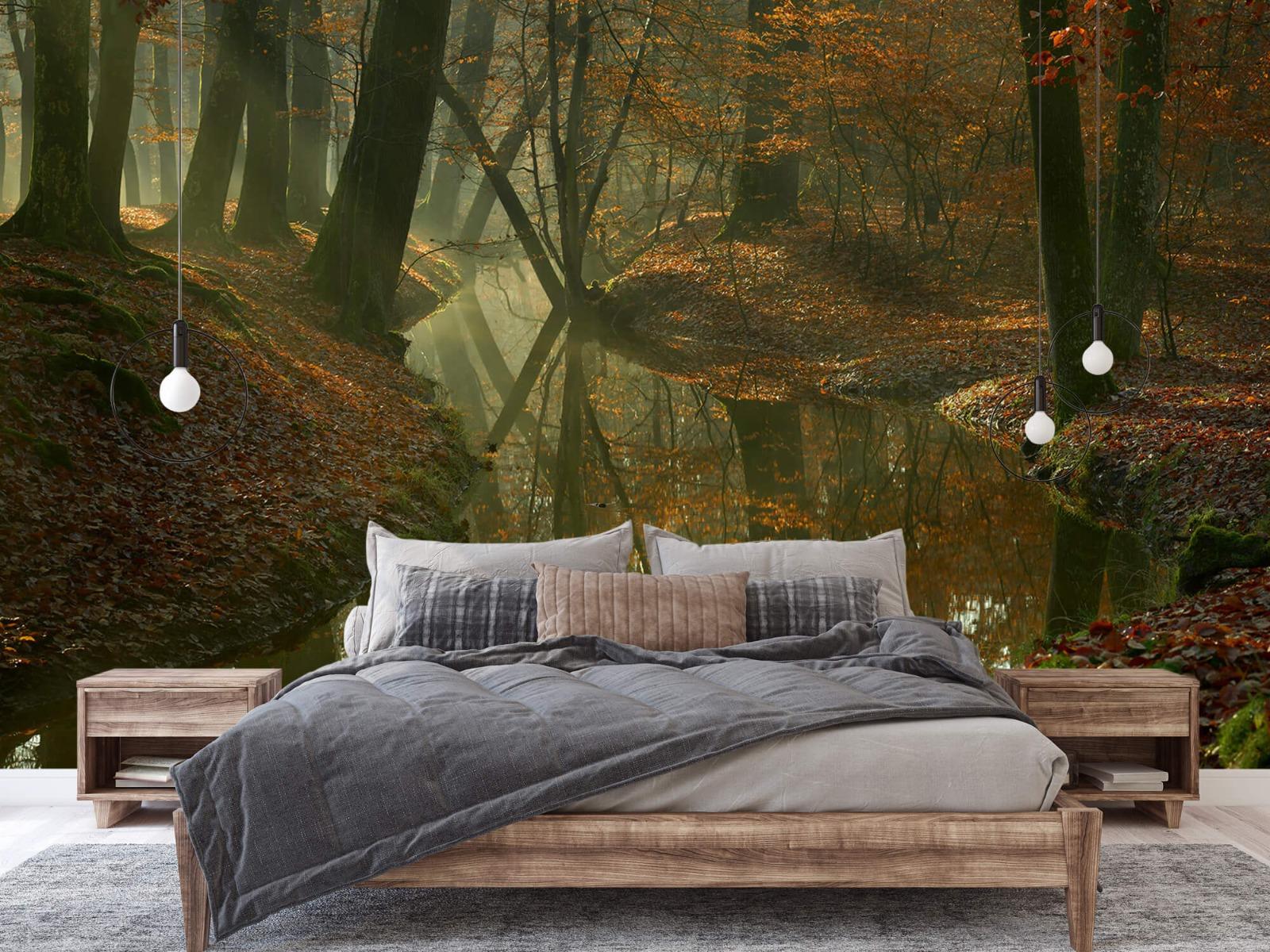 Herfst - Beek door het bos - Slaapkamer 2