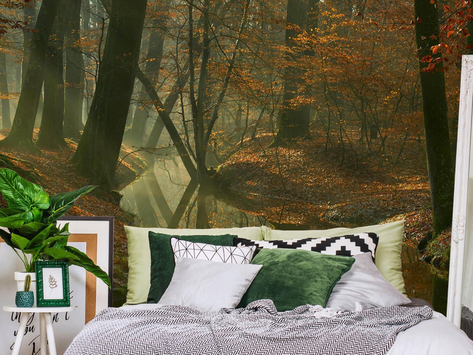Herfst - Beek door het bos - Slaapkamer 13