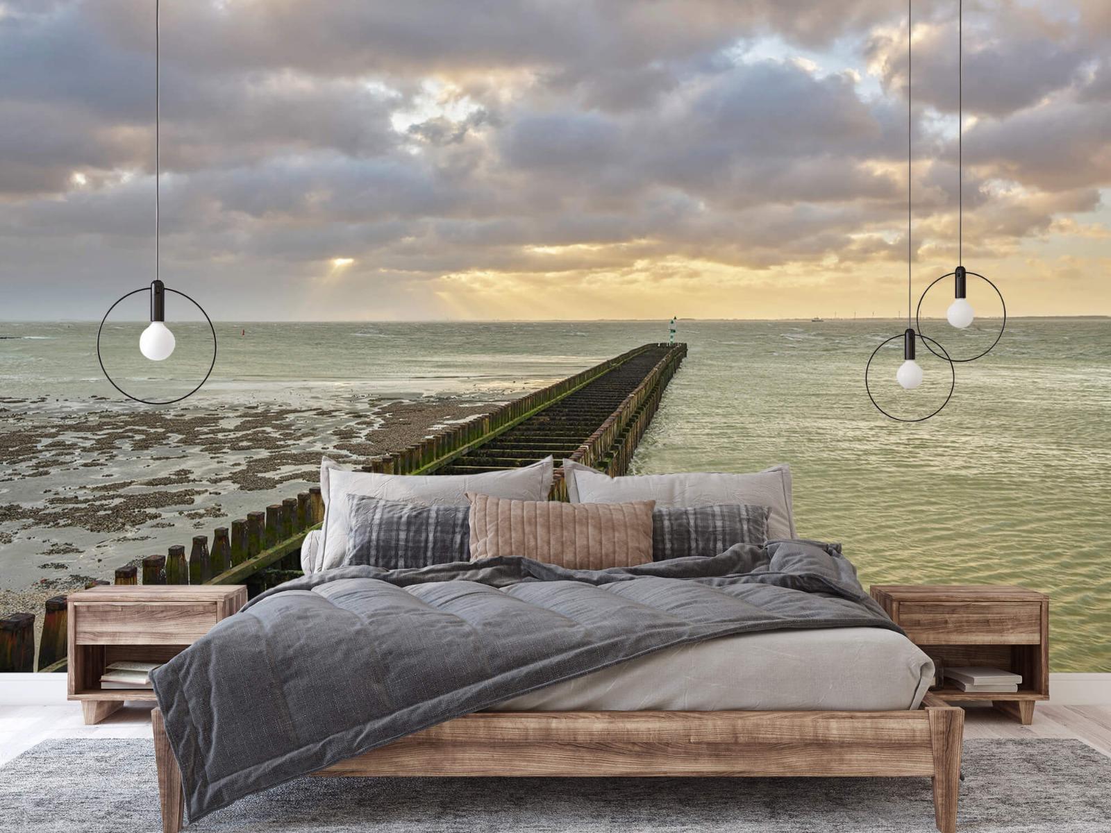 Zeeën en Oceanen - Golfbreker aan de kust - Slaapkamer 2
