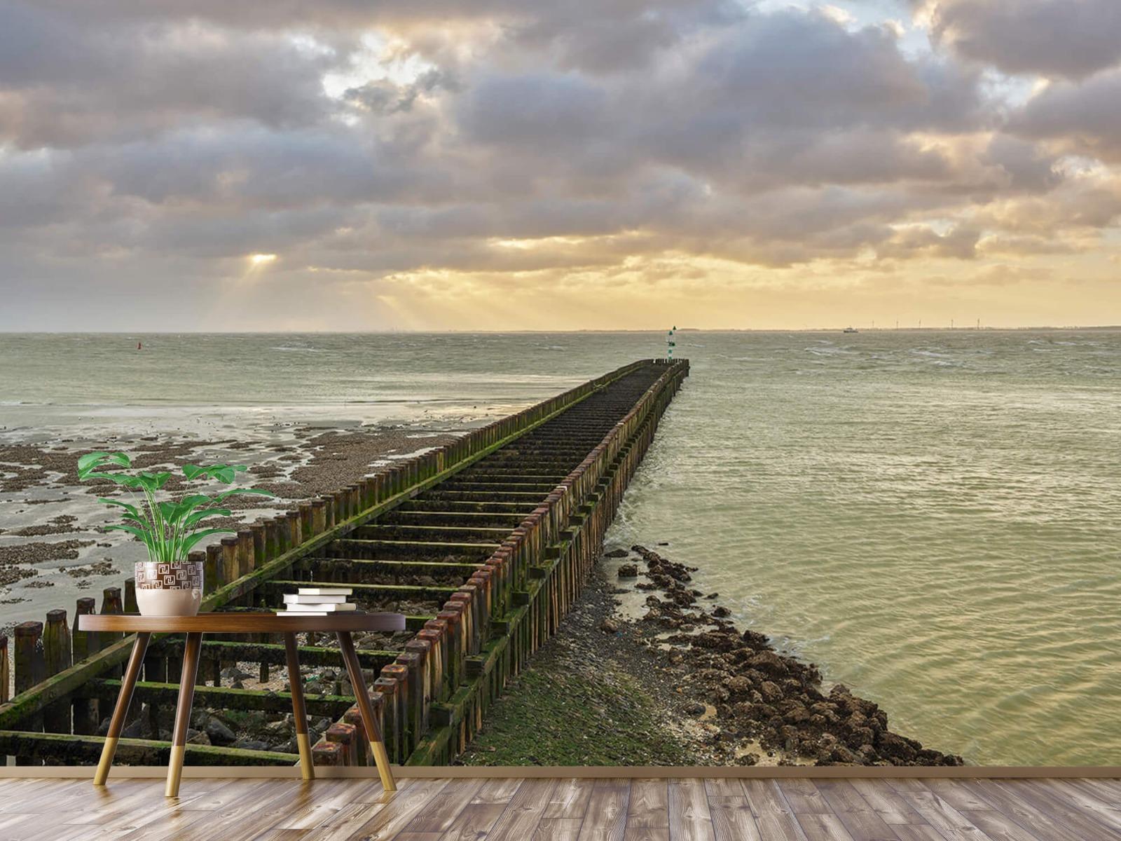 Zeeën en Oceanen - Golfbreker aan de kust - Slaapkamer 4