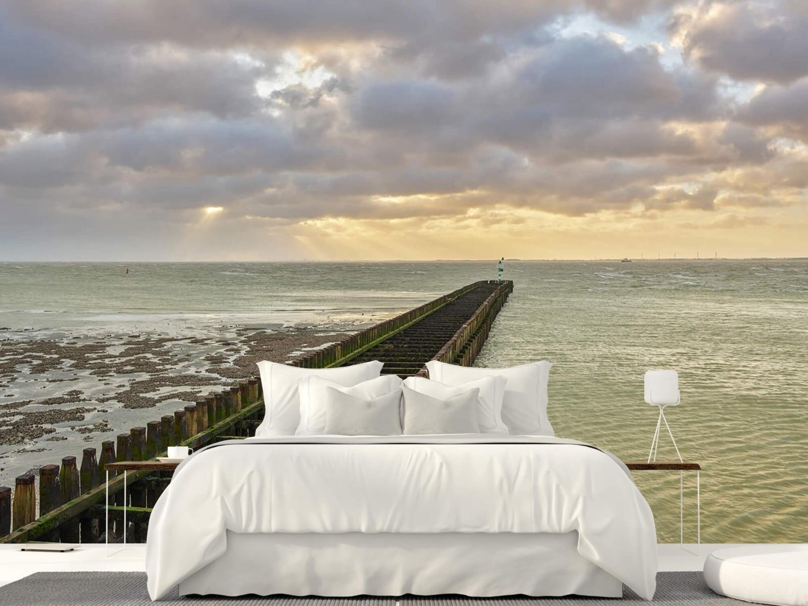 Zeeën en Oceanen - Golfbreker aan de kust - Slaapkamer 23