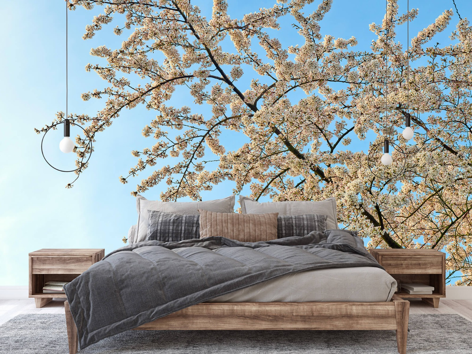Bomen - Bloesemtak - Slaapkamer 2
