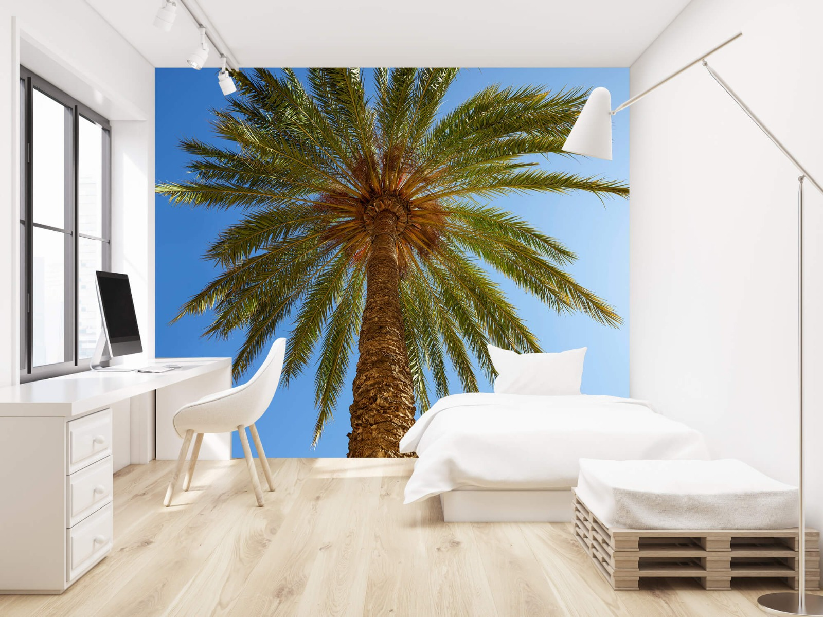Palmbomen - Gedetailleerde Palmboom - Slaapkamer 22