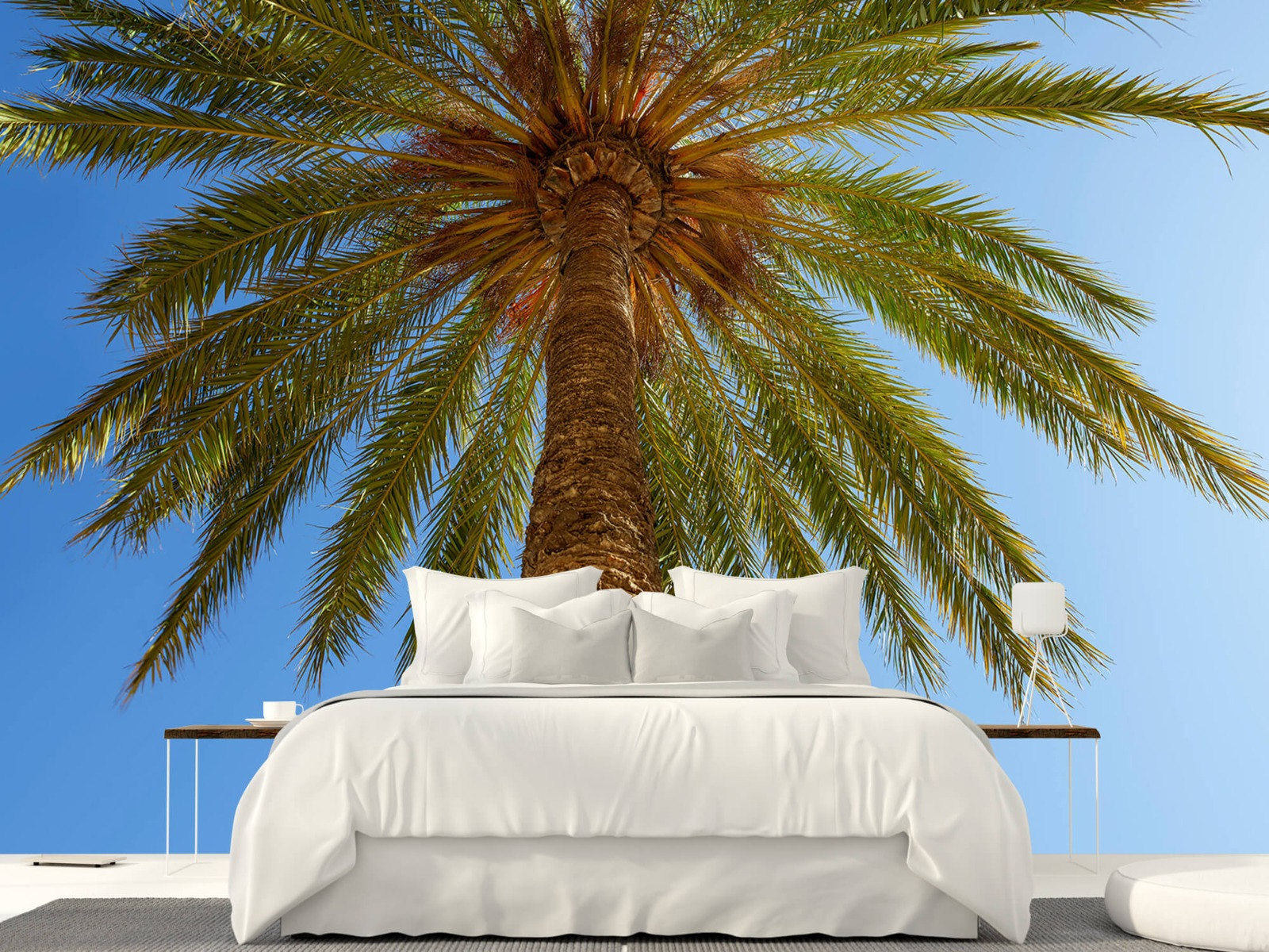 Palmbomen - Gedetailleerde Palmboom - Slaapkamer 23