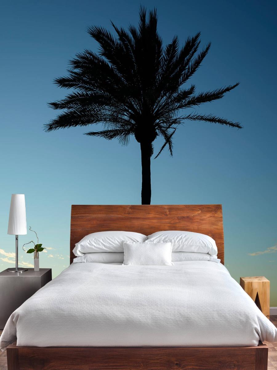 Palmbomen - Palmboom bij zonsondergang - Woonkamer 3