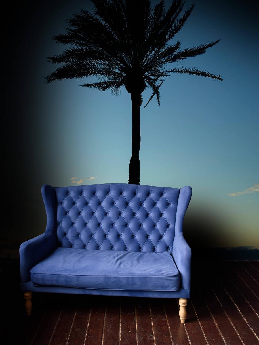 Palmbomen - Palmboom bij zonsondergang - Woonkamer 4