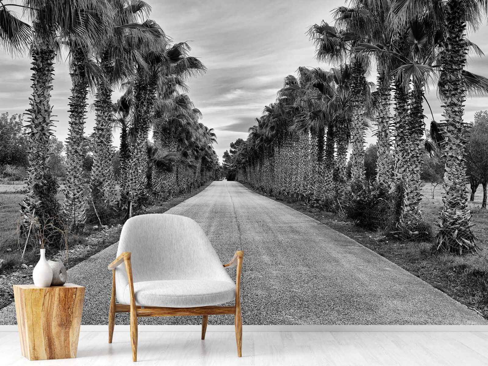 Palmbomen - Straat met palmbomen - Woonkamer 18