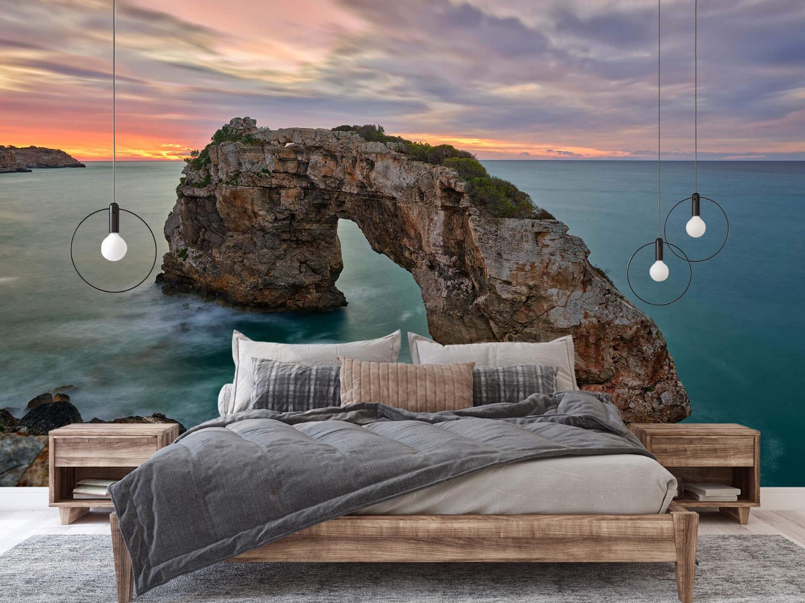 Zeeën en Oceanen - Rots in zee - Slaapkamer 2