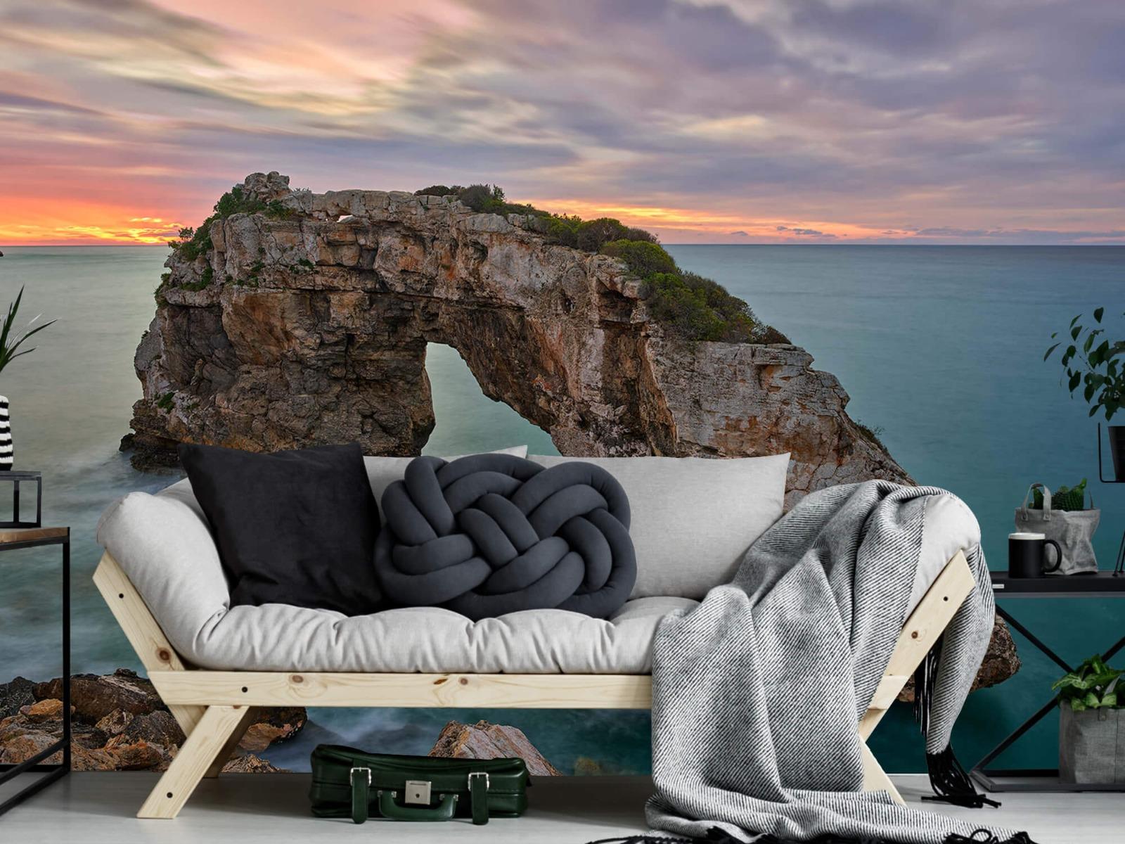 Zeeën en Oceanen - Rots in zee - Slaapkamer 6