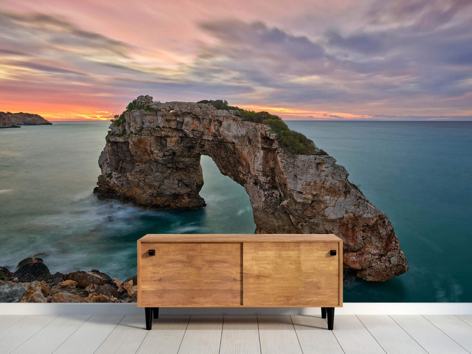 Zeeën en Oceanen - Rots in zee - Slaapkamer 9