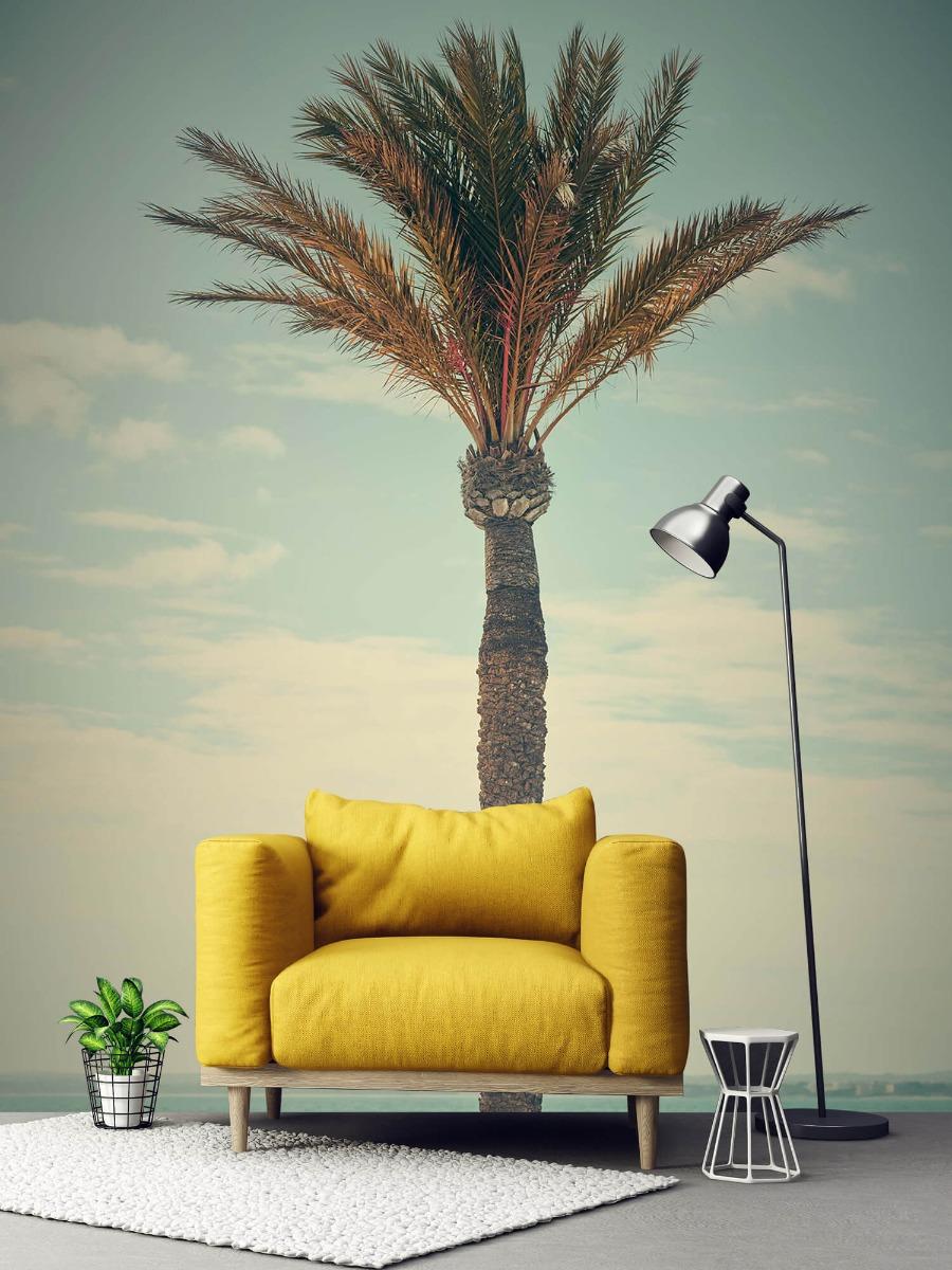 Palmbomen - Vintage palmboom - Slaapkamer 1