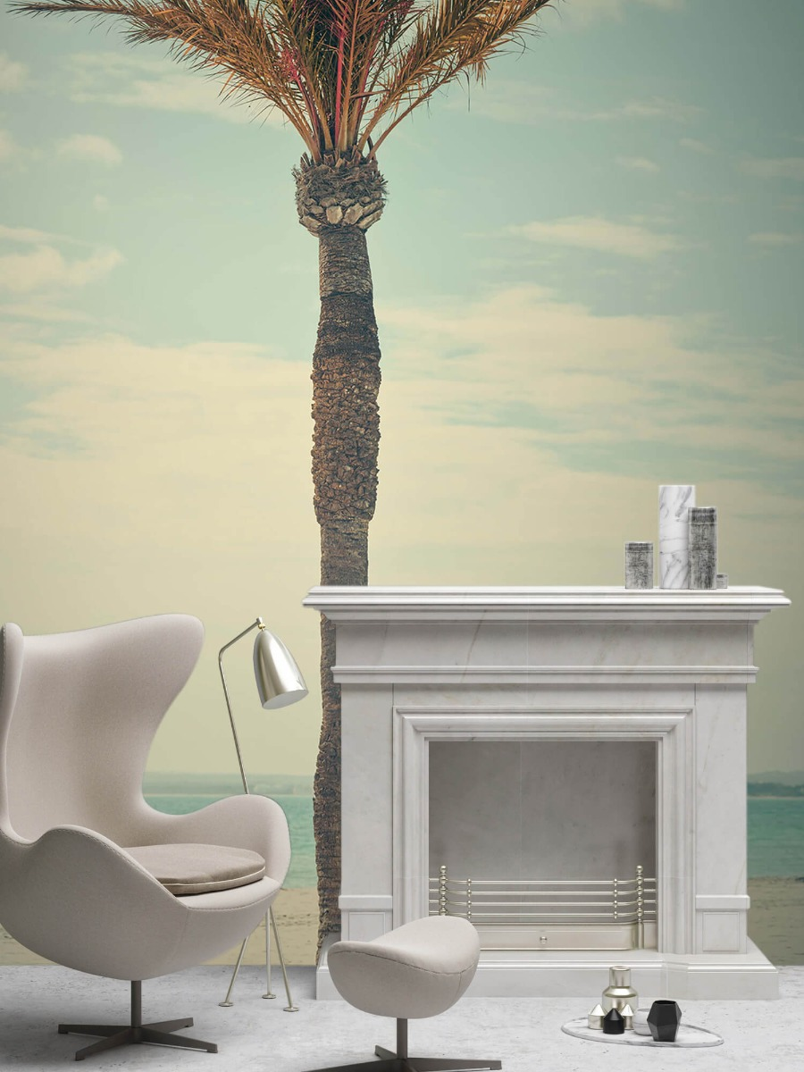 Palmbomen - Vintage palmboom - Slaapkamer 8