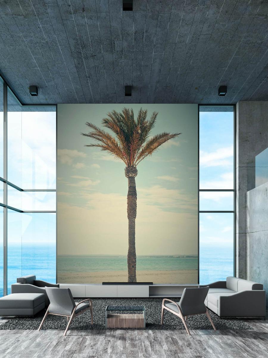 Palmbomen - Vintage palmboom - Slaapkamer 3