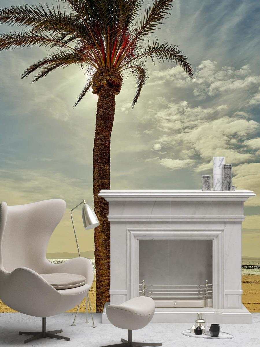 Palmbomen - Palmboom in de zon - Slaapkamer 7