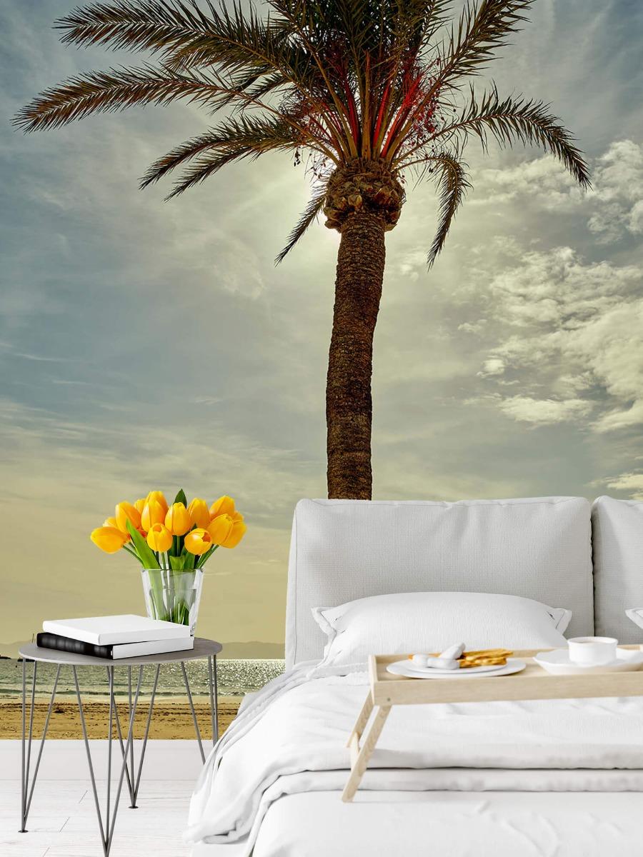 Palmbomen - Palmboom in de zon - Slaapkamer 8