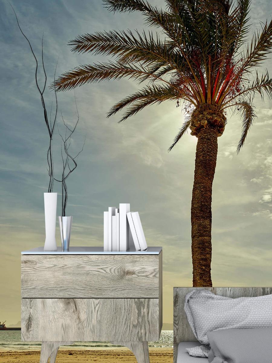 Palmbomen - Palmboom in de zon - Slaapkamer 2