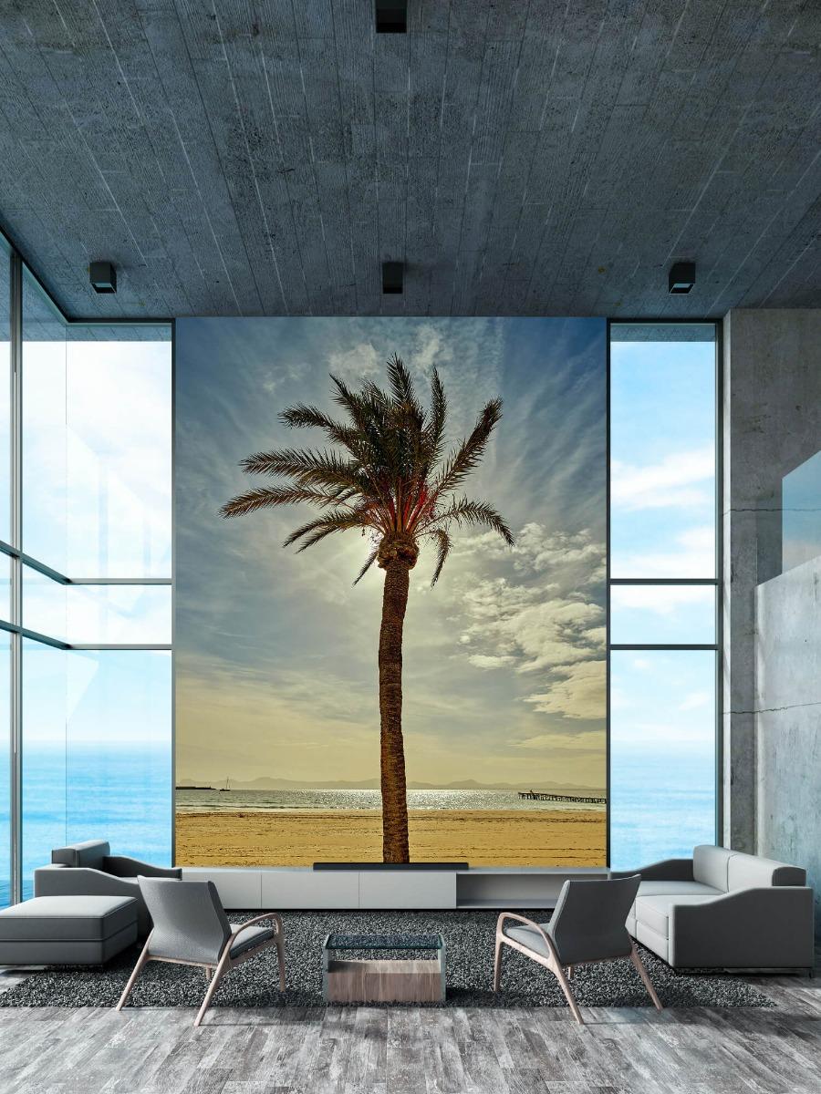 Palmbomen - Palmboom in de zon - Slaapkamer 10