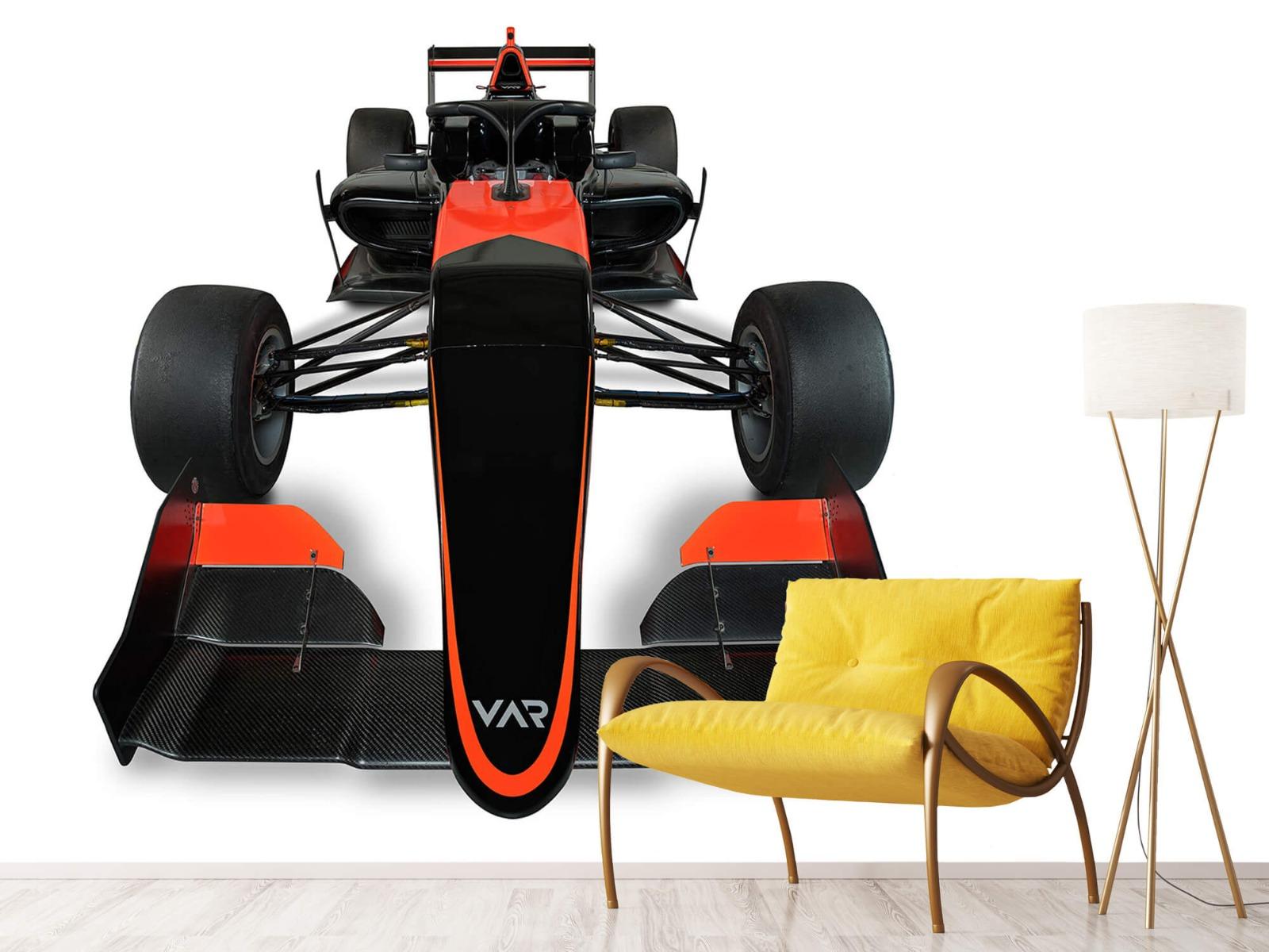 Sportauto's - Formule 3 - Front view - Computerruimte 11