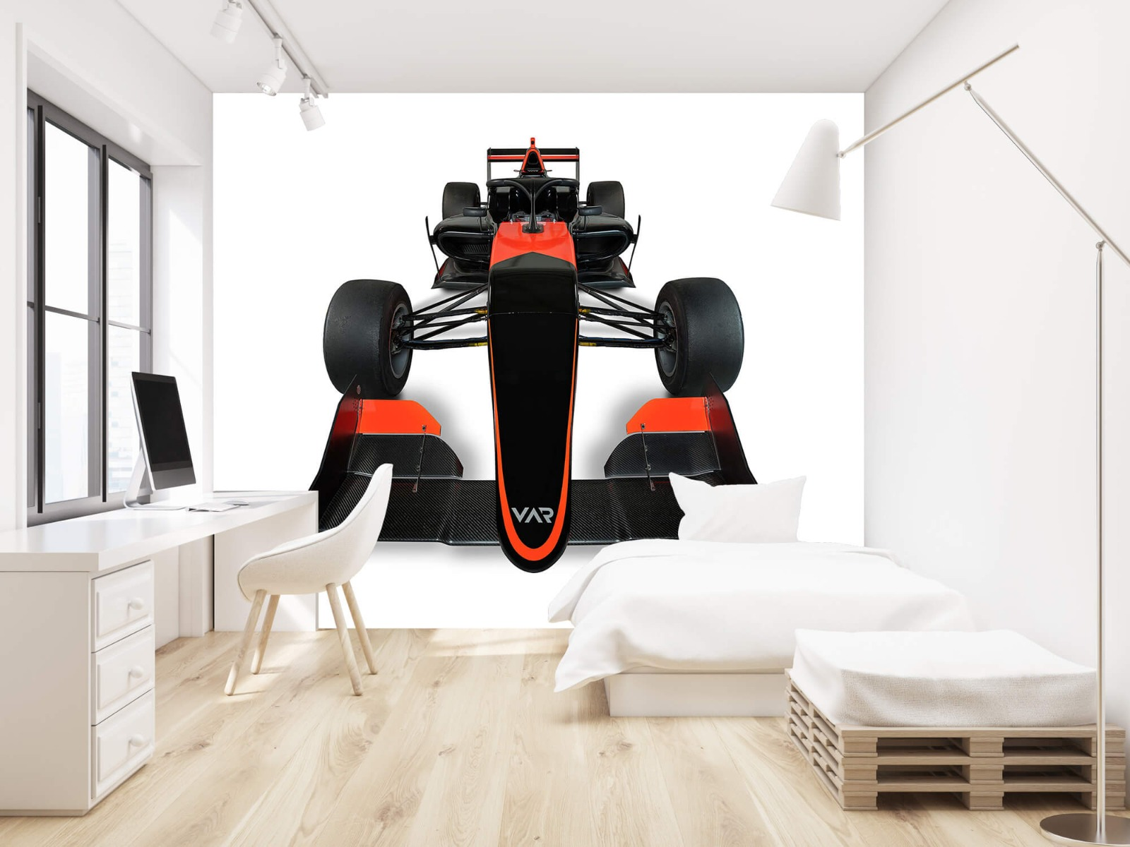 Sportauto's - Formule 3 - Front view - Computerruimte 22
