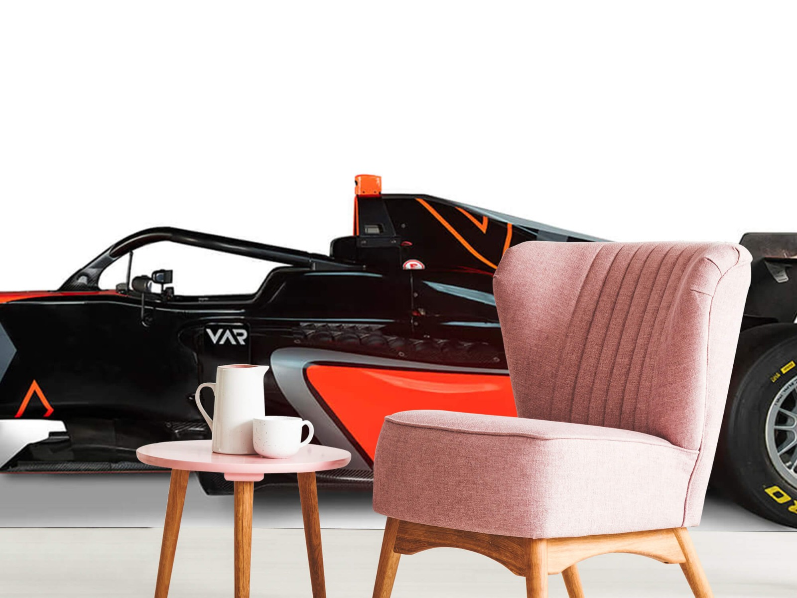 Sportauto's - Formule 3 - Lower side view - Computerruimte 9