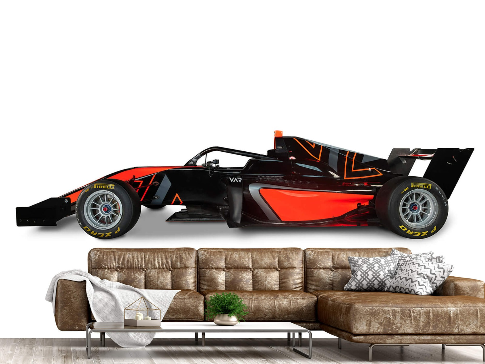 Sportauto's - Formule 3 - Lower side view - Computerruimte 14