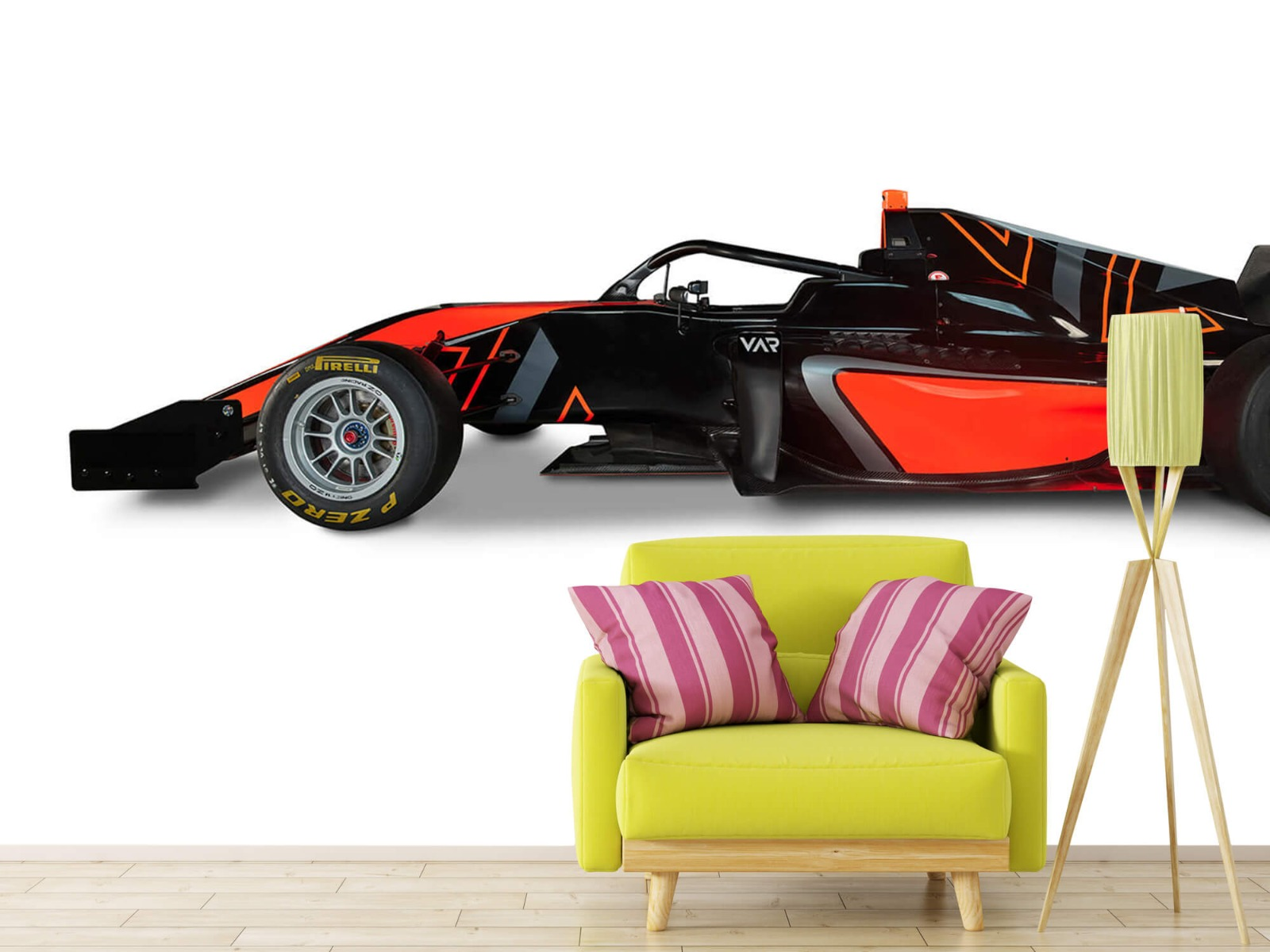 Sportauto's - Formule 3 - Lower side view - Computerruimte 17